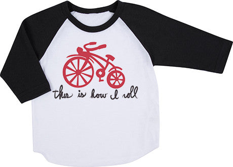 How I Roll Raglan