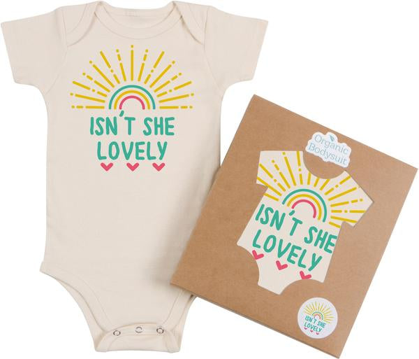 Isn't She Lovely Bodysuit & Tee