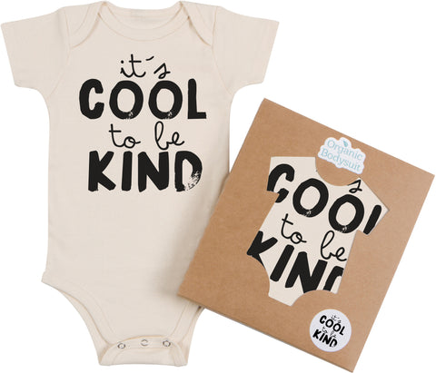 Cool to be Kind Bodysuit & Tee