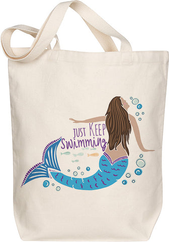 Just Keep Swimming Tote