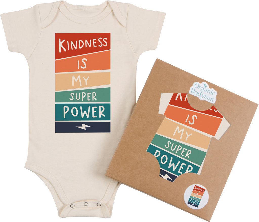 Kindness is my Super Power Bodysuit & Tee