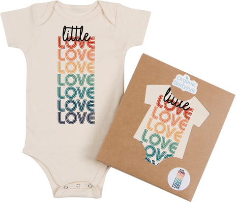 Little Love Rainbow Bodysuit & Tee