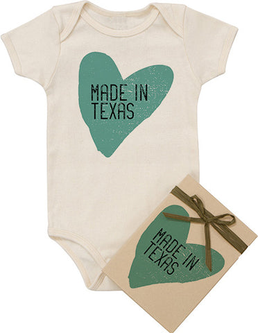 """Made In"" Texas Bodysuit"