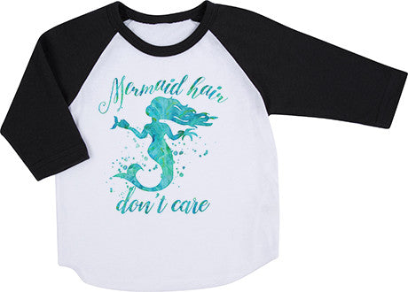 Mermaid Hair Raglan