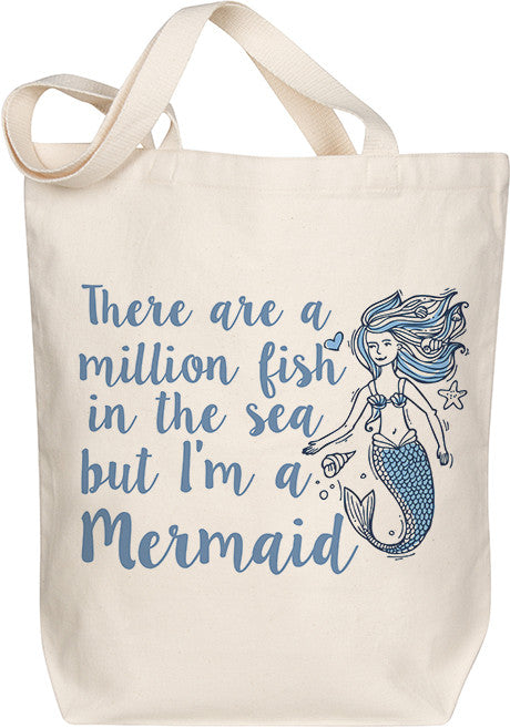 I'm A Mermaid Tote