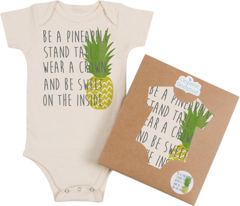 Be A Pineapple Bodysuit & Tee