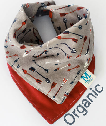 Red Arrows Bandana Bib