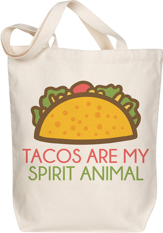 Tacos Spirit Animal Tote