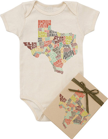 Texas Typography Bodysuit