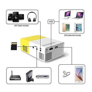 LumiPal 2.0 Ultra Portable Pocket Projector