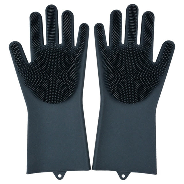 Hot Silicone Dishwashing Gloves