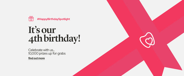 It's Spotlight Oral Care's 4th Birthday!