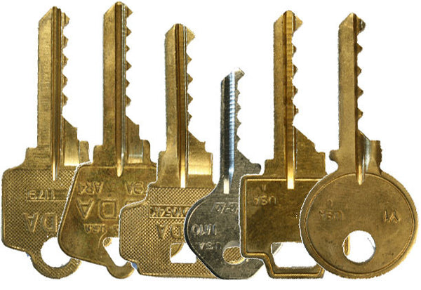 Commercial Bump Key Set 6 Keys
