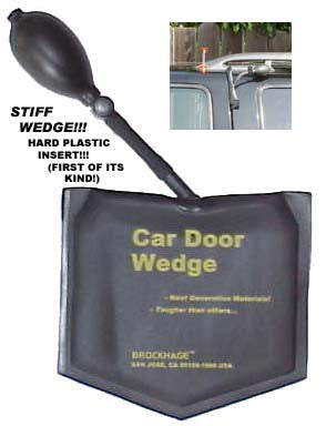 Stiff Wedge! Car Door Wedge.