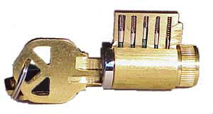Basic Cut-Away Practice Lock (Left)