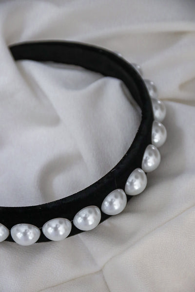 Solo Pearls Headband