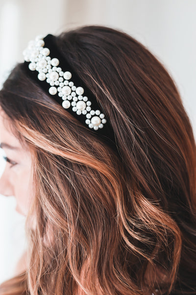 Dreaming of Pearls Headband