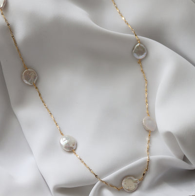 The Katy Pearl Necklace