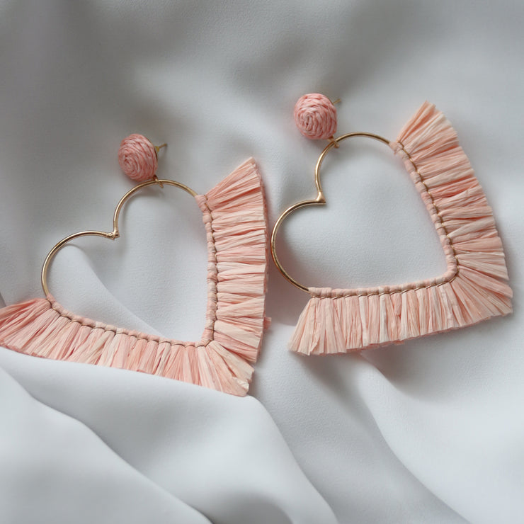 Summer Hearts Earrings