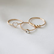 The Nicole Ring Set