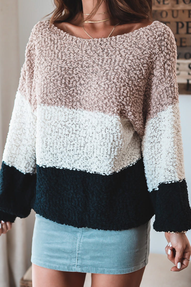 The Colorblock Knit Sweater