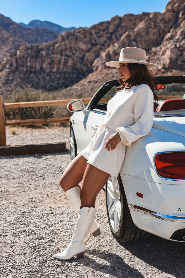 The Catalina Sweater Mini dress