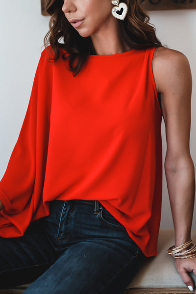 Carla One Shoulder Top