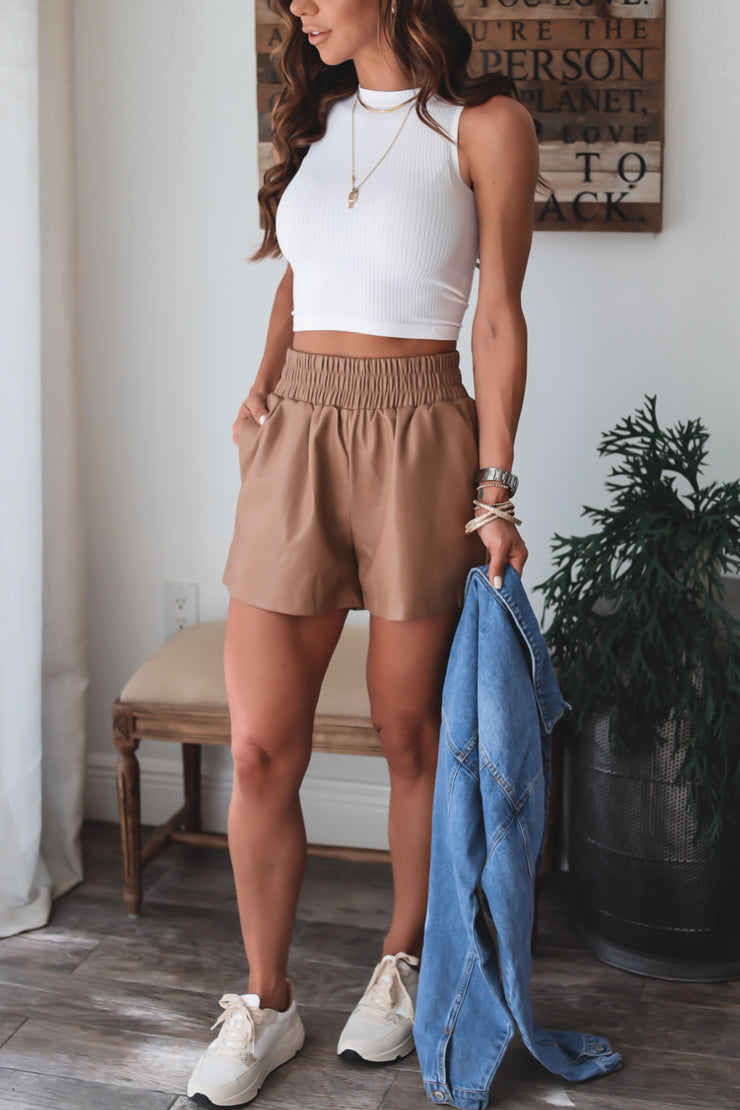 Aubrey Embroidered Ruffle Shorts