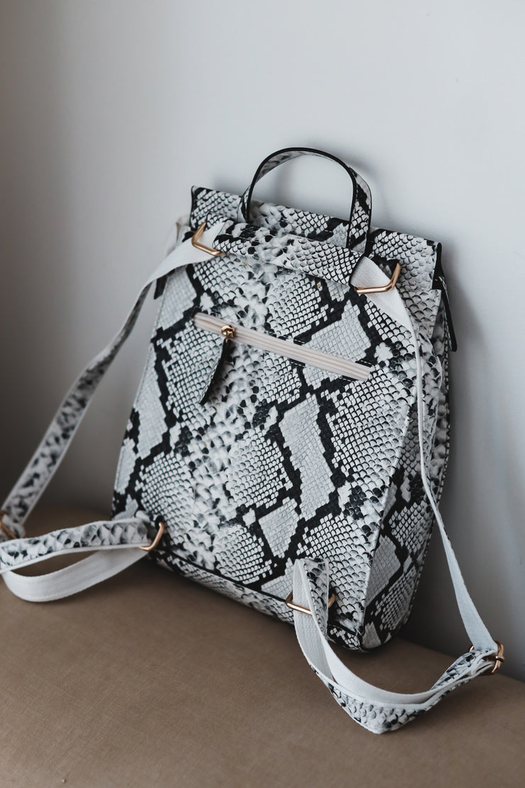 The James Printed Backpack