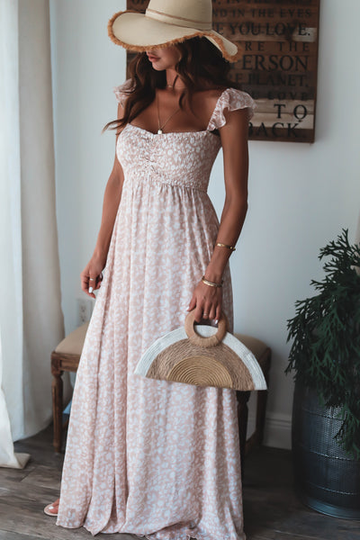 Stacy Smocked Maxi Dress