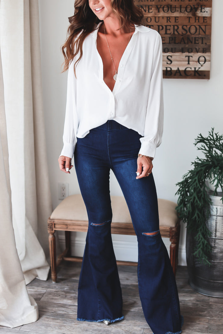 The Aria Button Down Blouse