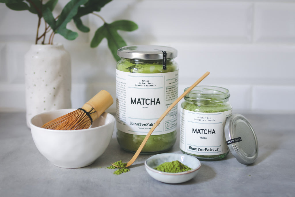 Matcha Tee: unser Superfood.