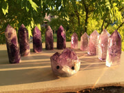 Scintillating Crystal Amethyst 11 Piece Set - Amethyst Hedgehog - collection