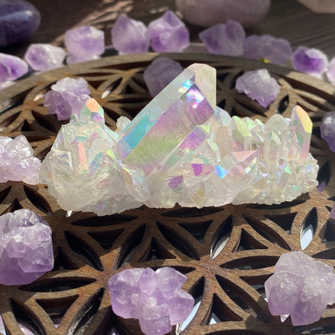 Angel & Amethyst Crystal Kit - collection