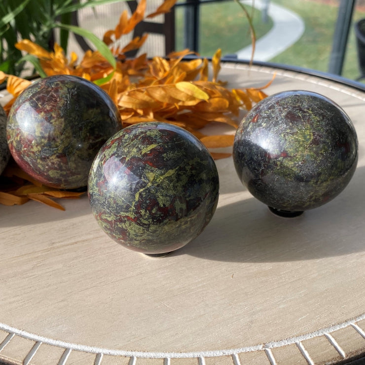 Dragons Blood Jasper Sphere - sphere