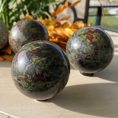 Dragons Blood Jasper Sphere
