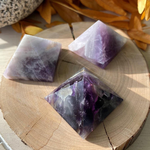 Dream Amethyst Pyramid