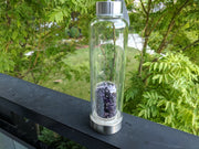 Gem Pod Water Bottle + Protective Sleeve (Stainless Steel) - Dream Amethyst