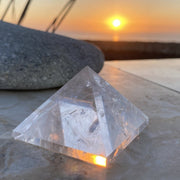 Quartz Pyramid (Size: Medium) - pyramids