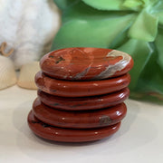 Red Jasper Worry Stone - worrystone