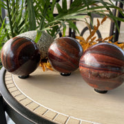 Red Tigers Eye - sphere