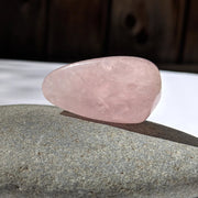 Rose Quartz Tumbled Stone - tumbledstone