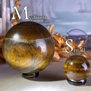 Tigers Eye Sphere - sphere