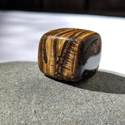 Tigers Eye Tumbled Stone - tumbledstone