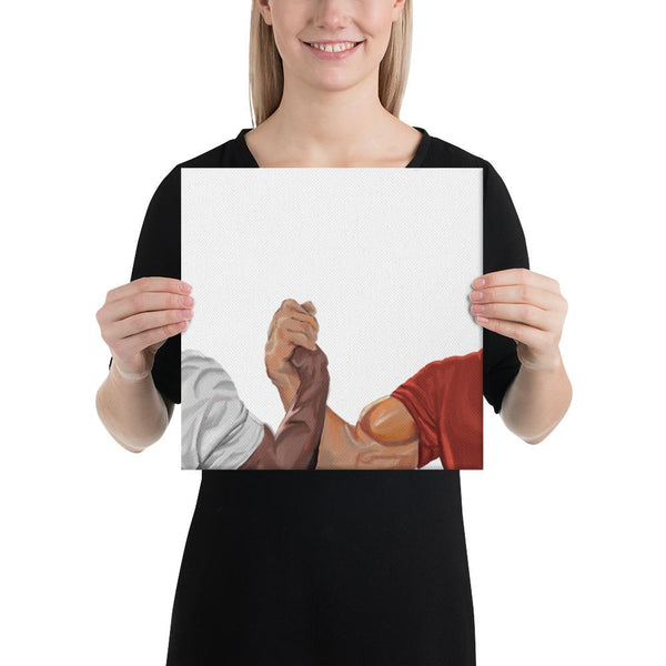 Epic Handshake Canvas shopyourmeme 12×12