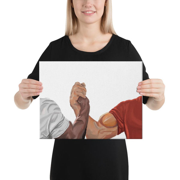 Epic Handshake Canvas shopyourmeme 12×16