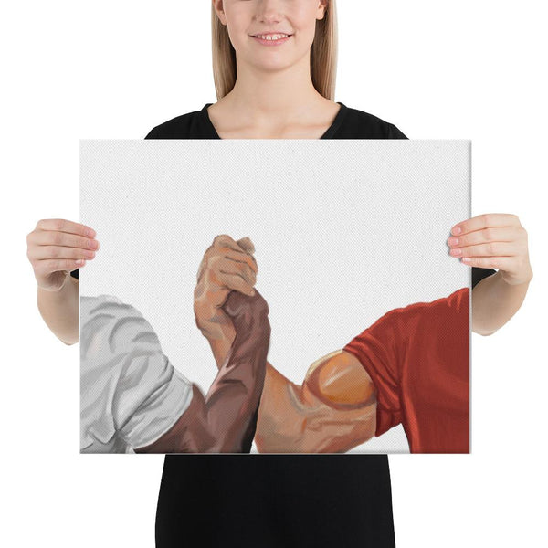 Epic Handshake Canvas shopyourmeme 16×20