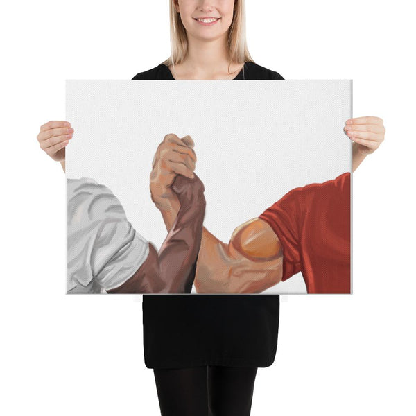 Epic Handshake Canvas shopyourmeme 18×24