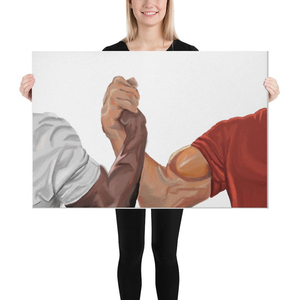 Epic Handshake Canvas shopyourmeme 24×36