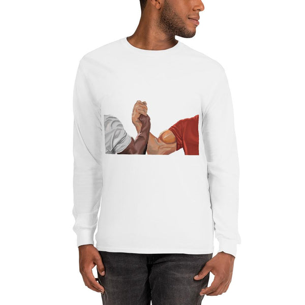 Epic Handshake Long Sleeve T-Shirt shopyourmeme